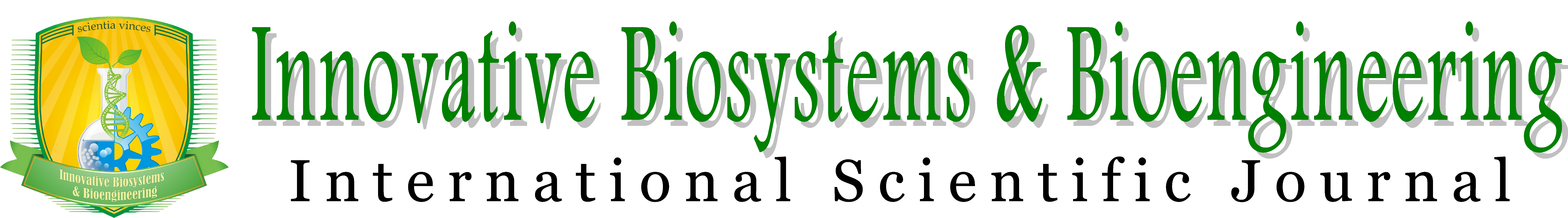 Innovative Biosystems and Bioengineering